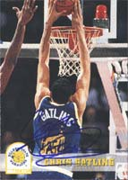 Chris Gatling Golden State Warriors 1994 Skybox Autographed Card. This item comes with a certificate of authenticity from Autograph-Sports. PSM-Powers Sports Memorabilia