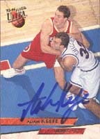 Adam Keefe Atlanta Hawks 1994 Fleer Ultra Autographed Card. This item comes with a certificate of authenticity from Autograph-Sports. PSM-Powers Sports Memorabilia