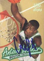 Antoine Walker Boston Celtics 1997 Fleer Ultra Rookie Autographed Card - Rookie Card. This item comes with a certificate of authenticity from Autograph-Sports. PSM-Powers Sports Memorabilia