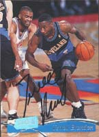 Terrell Brandon Cleveland Cavaliers 1997 Stadium Club Autographed Card. This item comes with a certificate of authenticity from Autograph-Sports. PSM-Powers Sports Memorabilia