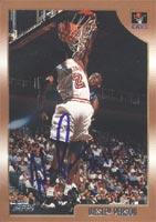 Wesley Person Cleveland Cavaliers 1998 Topps Autographed Card. This item comes with a certificate of authenticity from Autograph-Sports. PSM-Powers Sports Memorabilia