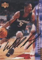 William Avery Minnesota Timberwolves 2000 Upper Deck Autographed Card - Rookie Card. This item comes with a certificate of authenticity from Autograph-Sports. PSM-Powers Sports Memorabilia