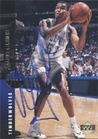 Andres Guibert Minnesota Timberwolves 1994 Upper Deck Autographed Card - Rookie Card. This item comes with a certificate of authenticity from Autograph-Sports. PSM-Powers Sports Memorabilia