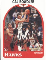 Cal Bowdler Atlanta Hawks 1999 Skybox X Autographed Card - Rookie Card. This item comes with a certificate of authenticity from Autograph-Sports. PSM-Powers Sports Memorabilia