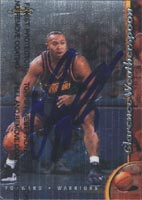 Clarence Weatherspoon Golden State Warriors 1998 Topps Finest Autographed Card - Nice Card. This item comes with a certificate of authenticity from Autograph-Sports. PSM-Powers Sports Memorabilia