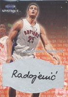 Aleksandar Radojevic Toronto Raptors 2000 Fleer Mystique Fresh Ink Autographed Card - Certified Autograph - Rookie Card. This item comes with a certificate of authenticity from Autograph-Sports. PSM-Powers Sports Memorabilia