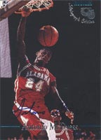 Antonio McDyess Alabama Crimson Tide - Los Angeles Clippers 1995 Classic Rookies Autograph Edition Certified Autographed Card - Certified Autograph - Rookie Card. This item comes with a certificate of authenticity from Autograph-Sports. PSM-Powers Sports Memorabilia