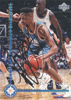 P.J. Brown New Jersey Nets 1994 Upper Deck NBA All-Star Weekend Highlights Autographed Card - Nice Card. This item comes with a certificate of authenticity from Autograph-Sports. PSM-Powers Sports Memorabilia