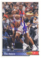 Rick Mahorn New Jersey Nets 1992 Upper Deck Autographed Card - Nice Card. This item comes with a certificate of authenticity from Autograph-Sports. PSM-Powers Sports Memorabilia