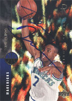 Tony Dumas Dallas Mavericks 1994 Upper Deck 1994-95 Rookie Class Autographed Card - Nice Card. This item comes with a certificate of authenticity from Autograph-Sports. PSM-Powers Sports Memorabilia