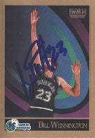 Bill Wennington Dallas Mavericks 1990 Skybox Autographed Card - Nice Card. This item comes with a certificate of authenticity from Autograph-Sports. PSM-Powers Sports Memorabilia