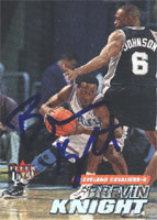 Brevin Knight Cleveland Cavaliers 2000 Fleer Ultra Autographed Card - Nice Card. This item comes with a certificate of authenticity from Autograph-Sports. PSM-Powers Sports Memorabilia