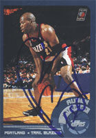 Ruben Patterson Portland Trail Blazers 2002 Topps Autographed Card - Nice Card. This item comes with a certificate of authenticity from Autograph-Sports. PSM-Powers Sports Memorabilia