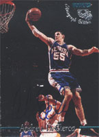 Andrew DeClercq Florida Gators 1995 Classic Rookies Autographed Card - Nice Card. This item comes with a certificate of authenticity from Autograph-Sports. PSM-Powers Sports Memorabilia