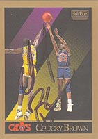 Chucky Brown Cleveland Cavaliers 1990 Skybox Autographed Card - Nice Autograph. This item comes with a certificate of authenticity from Autograph-Sports. PSM-Powers Sports Memorabilia