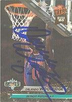 Orlando Woolridge Detroit Pistons 1992 Fleer Ultra Autographed Card - Nice Autograph. This item comes with a certificate of authenticity from Autograph-Sports. PSM-Powers Sports Memorabilia