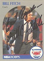 Bill Fitch New Jersey Nets 1990 Hoops Autographed Card - Nice Autograph. This item comes with a certificate of authenticity from Autograph-Sports. PSM-Powers Sports Memorabilia