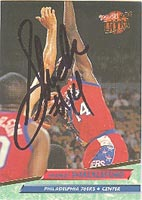 Charles Shackleford Philadelphia 76ers 1992 Fleer Ultra Autographed Card - Nice Autograph. This item comes with a certificate of authenticity from Autograph-Sports. PSM-Powers Sports Memorabilia