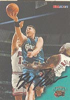 Bryant Reeves Vancouver Grizzlies 1996 Hoops Autographed Card - Nice Autograph. This item comes with a certificate of authenticity from Autograph-Sports. PSM-Powers Sports Memorabilia