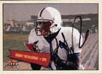 Bobby Newcombe Arizona Cardinals 2001 Fleer Tradition Autographed Card - Rookie Card. This item comes with a certificate of authenticity from Autograph-Sports. PSM-Powers Sports Memorabilia