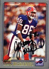Jeremy McDaniel Buffalo Bills 2001 Topps Autographed Card. This item comes with a certificate of authenticity from Autograph-Sports. PSM-Powers Sports Memorabilia