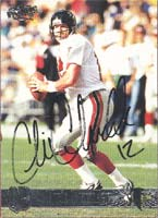 Chris Chandler Atlanta Falcons 1998 Pacific Autographed Card. This item comes with a certificate of authenticity from Autograph-Sports. PSM-Powers Sports Memorabilia