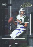 Chad Pennington New York Jets 2003 Playoff Absolute Memorabilia Autographed Card. This item comes with a certificate of authenticity from Autograph-Sports. PSM-Powers Sports Memorabilia