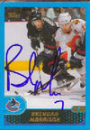 Brendan Morrison Vancouver Canucks 2001 Topps Autographed Card. This item comes with a certificate of authenticity from Autograph-Sports. PSM-Powers Sports Memorabilia