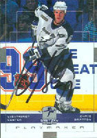 Chris Gratton Tampa Bay Lightning 2000 Upper Deck Playmaker Gretzky Autographed Card. This item comes with a certificate of authenticity from Autograph-Sports. PSM-Powers Sports Memorabilia