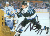 Chris Gratton Tampa Bay Lightning 1995 Pinnacle Select Autographed Card. This item comes with a certificate of authenticity from Autograph-Sports. PSM-Powers Sports Memorabilia