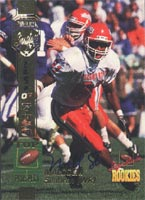 Malcolm Seabron Fresno State Bulldogs - Houston Oilers 1994 Signature Rookies Certified Autographed Card - Certified Autograph - Rookie Card. This item comes with a certificate of authenticity from Autograph-Sports. PSM-Powers Sports Memorabilia