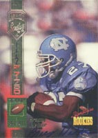 Bracey Walker North Carolina Tarheels - Kansas City Chiefs 1994 Signature Rookies Certified Autographed Card - Certified Autograph - Rookie Card. This item comes with a certificate of authenticity from Autograph-Sports. PSM-Powers Sports Memorabilia