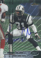 Aaron Glenn New York Jets 1999 Topps Finest Autographed Card - Awesome Autograph. This item comes with a certificate of authenticity from Autograph-Sports. PSM-Powers Sports Memorabilia