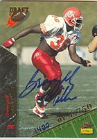 Bronzell Miller Utah Utes 1995 Signature Rookies 95 Draft Autographed Card - Certified Autograph #1422 / 7750 - Rookie Card. This item comes with a certificate of authenticity from Autograph-Sports. PSM-Powers Sports Memorabilia