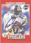 Plaxico Burress Pittsburgh Steelers 2001 Upper Deck Vintage Autographed Card - Nice Autograph. This item comes with a certificate of authenticity from Autograph-Sports. PSM-Powers Sports Memorabilia