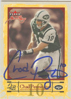Chad Pennington New York Jets 2004 Fleer Sweet Sigs Autographed Card - Awesome Autograph. This item comes with a certificate of authenticity from Autograph-Sports. PSM-Powers Sports Memorabilia
