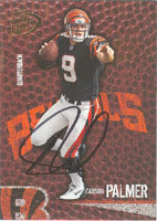 Carson Palmer Cincinnati Bengals 2004 Playoff Hog Heaven Autographed Card - Awesome Autograph. This item comes with a certificate of authenticity from Autograph-Sports. PSM-Powers Sports Memorabilia