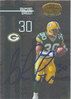 Ahman Green Green Bay Packers 2005 Leaf Certified Materials Autographed Card - Awesome Autograph. This item comes with a certificate of authenticity from Autograph-Sports. PSM-Powers Sports Memorabilia