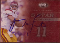 Matt Leinart USC Trojans - Arizona Cardinals 2006 Aspire Autographed Card - Nice Card. This item comes with a certificate of authenticity from Autograph-Sports. PSM-Powers Sports Memorabilia