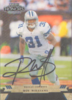 Roy Williams Detroit Lions 2005 Playoff Honors Autographed Card - Nice Card. This item comes with a certificate of authenticity from Autograph-Sports. PSM-Powers Sports Memorabilia