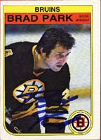 Brad Park Boston Bruins 1982 Opee Chee Autographed Card - Hall Of Fame. This item comes with a certificate of authenticity from Autograph-Sports. PSM-Powers Sports Memorabilia