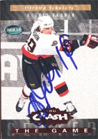 Alexei Yashin Ottawa Senators 1994 Parkhurst Crash the Game Autographed Card - Nice Card. This item comes with a certificate of authenticity from Autograph-Sports. PSM-Powers Sports Memorabilia