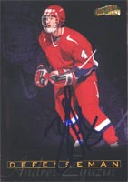 Andrei Zyuzin San Jose Sharks 1996 Score Board All Sport Plus Autographed Card - Rookie Card. This item comes with a certificate of authenticity from Autograph-Sports. PSM-Powers Sports Memorabilia