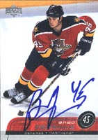 Brad Ference Florida Panthers 2002 Upper Deck Autographed Card. This item comes with a certificate of authenticity from Autograph-Sports. PSM-Powers Sports Memorabilia