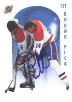 Brent Bilodeau Montreal Canadiens 1991 Ultimate Sportscards Draft Pick Autographed Card - Rookie Card. This item comes with a certificate of authenticity from Autograph-Sports. PSM-Powers Sports Memorabilia
