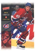 Brian Savage Montreal Canadiens 2000 Victory Autographed Card. This item comes with a certificate of authenticity from Autograph-Sports. PSM-Powers Sports Memorabilia
