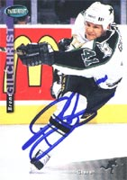 Brent Gilchrist Dallas Stars 1994 Parkhurst Autographed Card. This item comes with a certificate of authenticity from Autograph-Sports. PSM-Powers Sports Memorabilia