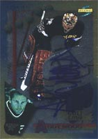 Andy Moog Dallas Stars 1995 Score Gold Line Autographed Card. This item comes with a certificate of authenticity from Autograph-Sports. PSM-Powers Sports Memorabilia