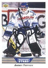 Andrei Trefilov Moscow Dynamo 1992 Upper Deck Russian Stars Autographed Card - Rookie Card. This item comes with a certificate of authenticity from Autograph-Sports. PSM-Powers Sports Memorabilia