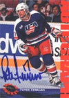 Chris Ferraro Team USA 1994 Classic Draft Picks Certified Autograph Autographed Card - Rookie Card - Certified Autograph. This item comes with a certificate of authenticity from Autograph-Sports. PSM-Powers Sports Memorabilia